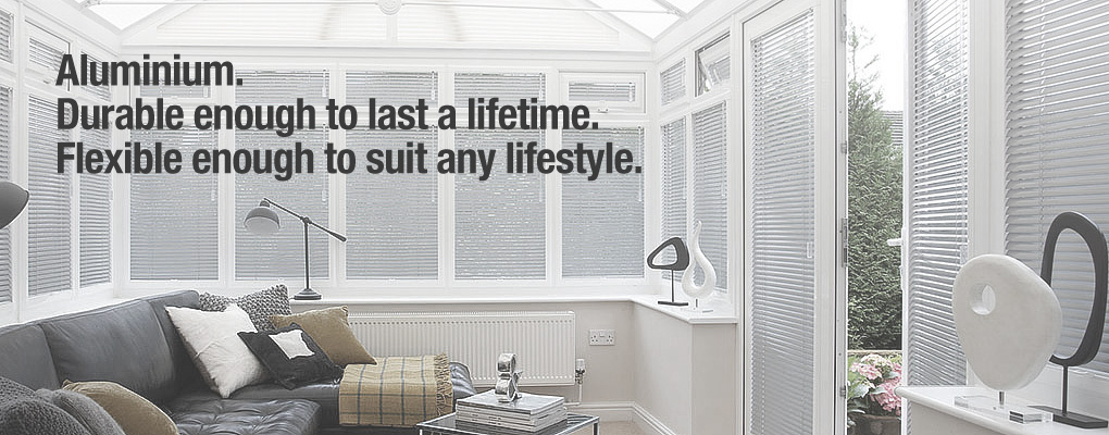 Aluminium. Durable enough to last a lifetime. Flexible enough to suit any lifestyle.