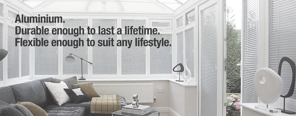 Aluminium. Durable enough to last a lifetime. Flexible enough to suit any lifestyle.